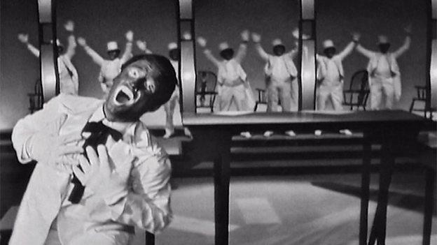 「街頭藝人秀」(minstrel show)在十九世紀的美國大受歡迎/圖片截自B...