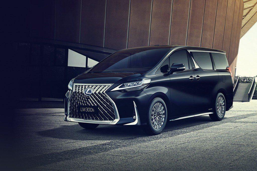 LEXUS全新車款LM正式發表。 圖/LEXUS提供