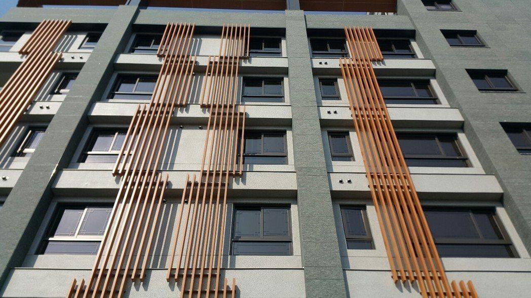 ADD導水板滴水條可常保大樓外牆抗污又亮麗 松旺/提供