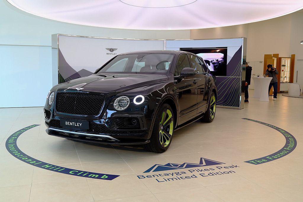 慶賀Bentley Bentayga LSUV於美國派克峰國際登高賽創下最速量產...