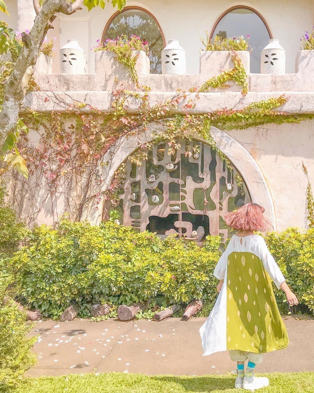 圖/園區內還有一座城堡民宿可以過夜。網友zora.taiwan授權
