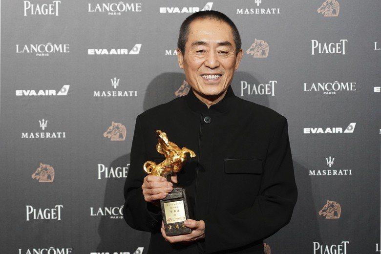 中國導演張藝謀的電影《一秒鐘》,因「技術問題」取消在柏林影展的展映。 圖/美聯社