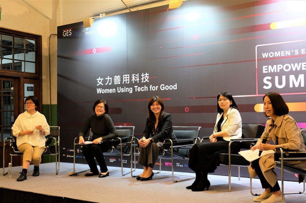 台灣今年首度獲美國在台協會(AIT)邀請,於松山文創園區攜手舉辦「女力經濟賦權高...