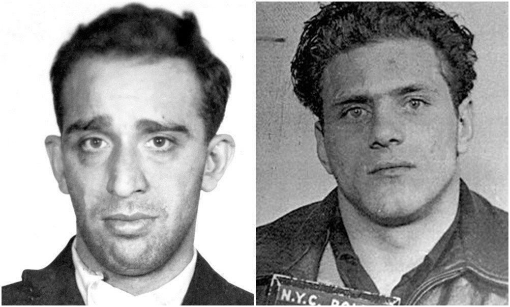 波斯科(左)與蓋洛(右),兩人從情同手足的最佳拍檔,成為互相仇視的宿命死敵。 圖...