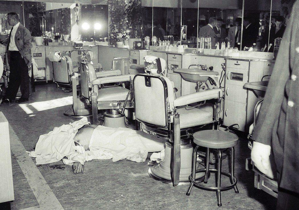 這場暗殺被稱為「理髮廳四重奏」,是紐約黑手黨那個年代的關鍵時刻。 圖/美聯社