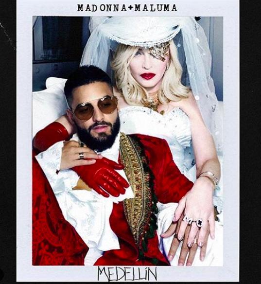 瑪丹娜準備推出新專輯。圖/摘自IG