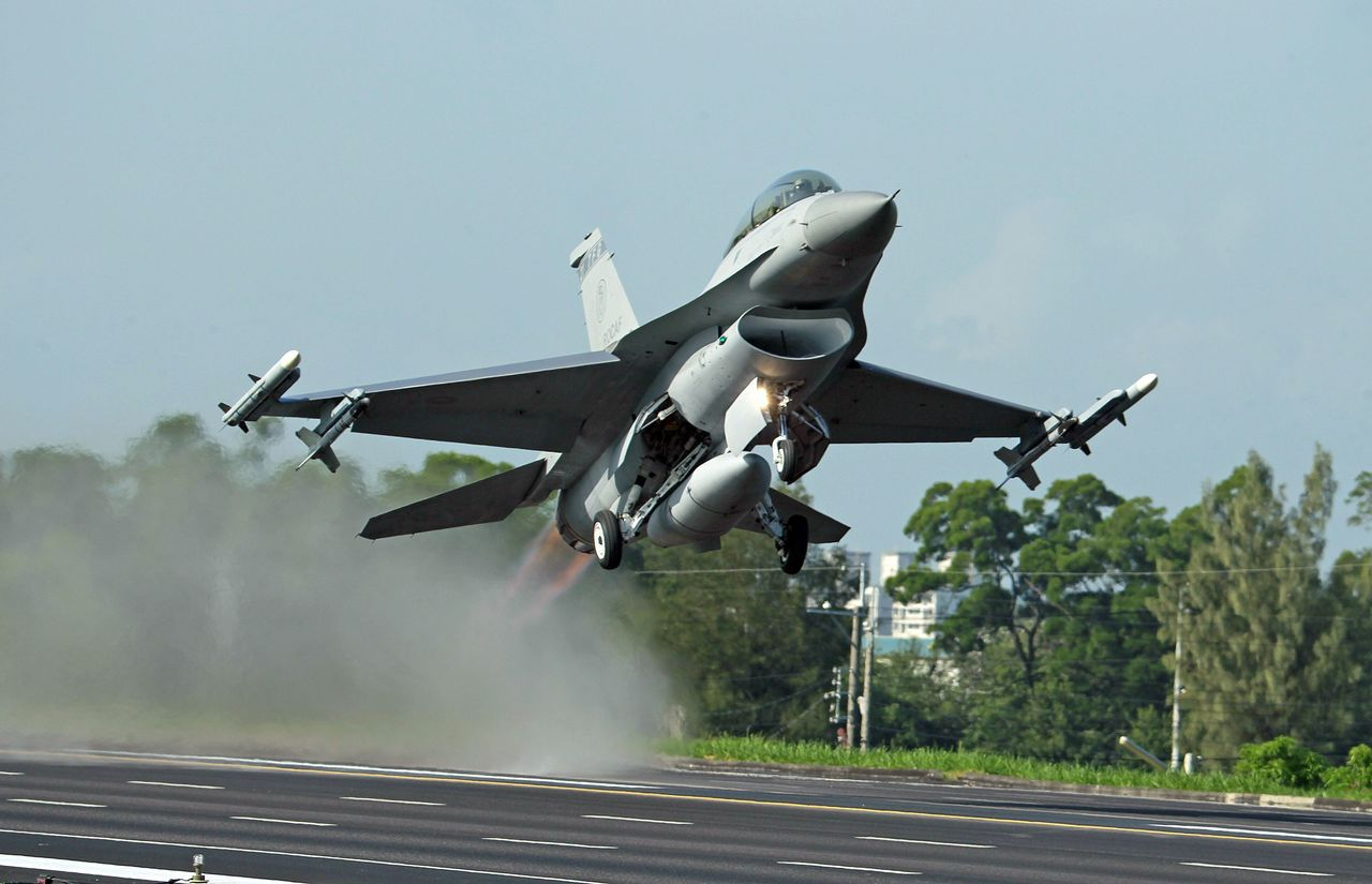 美國國務院批准對台5億美元F-16後勤交易。美聯社