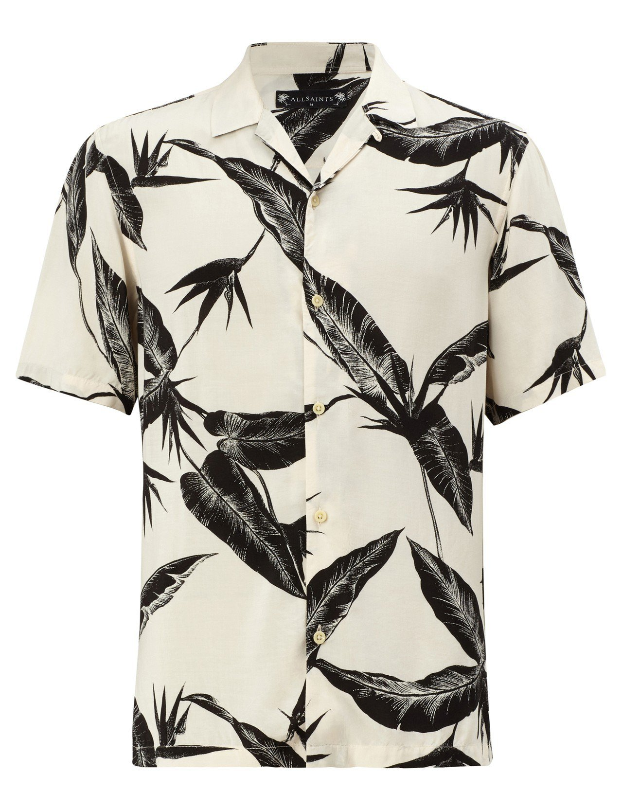 AllSaints Virginia印花襯衫4,400元。圖/AllSaints...