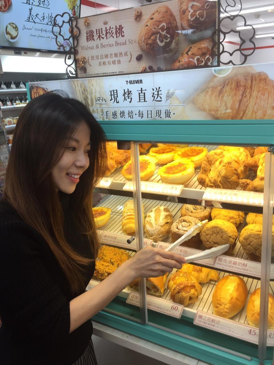 7-ELEVEN去年賣出超過2億個麵包及三明治,相當於每一秒就賣出6.3個。(照...