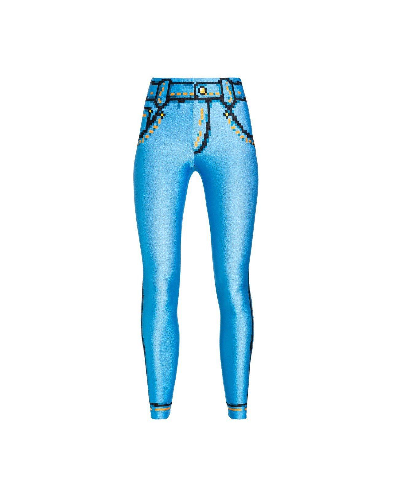 低畫素牛仔褲,18,300元。圖/Moschino提供