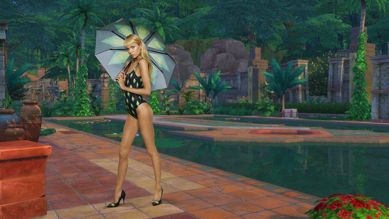 Moschino再度發揮善於引起消費者共鳴的功力,找上美商藝電標誌性的電玩「模擬...