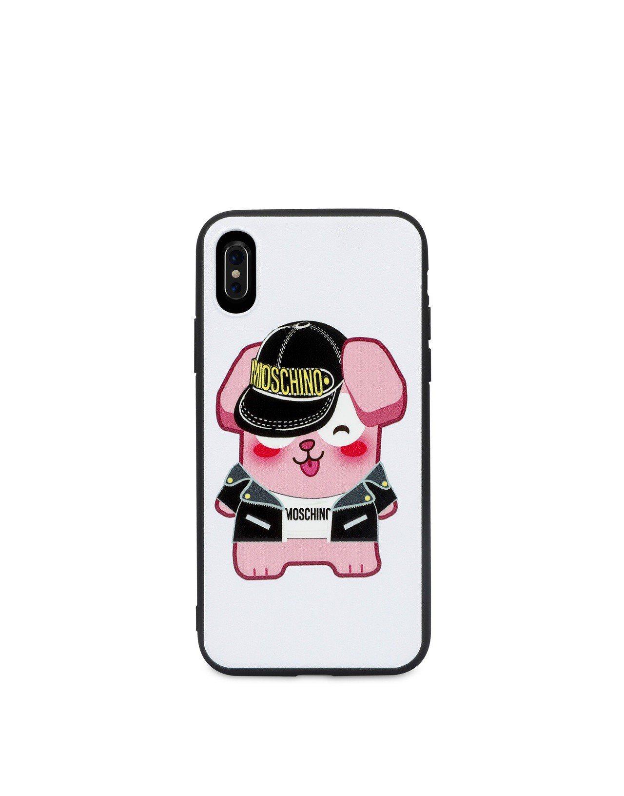 粉紅冷凍兔手機殼,2,900元。圖/Moschino提供