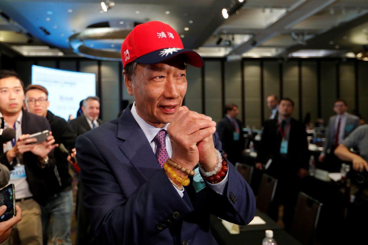 郭台銘在印太安全對話論壇對外首次鬆口有意參與2020年總統選舉,「最快這兩天會做...