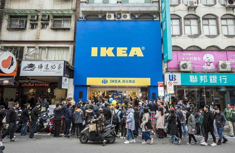 IKEA宜家家居台北通化夜市、台中逢甲夜市等這兩間快閃百元商店將營業至4月21日...