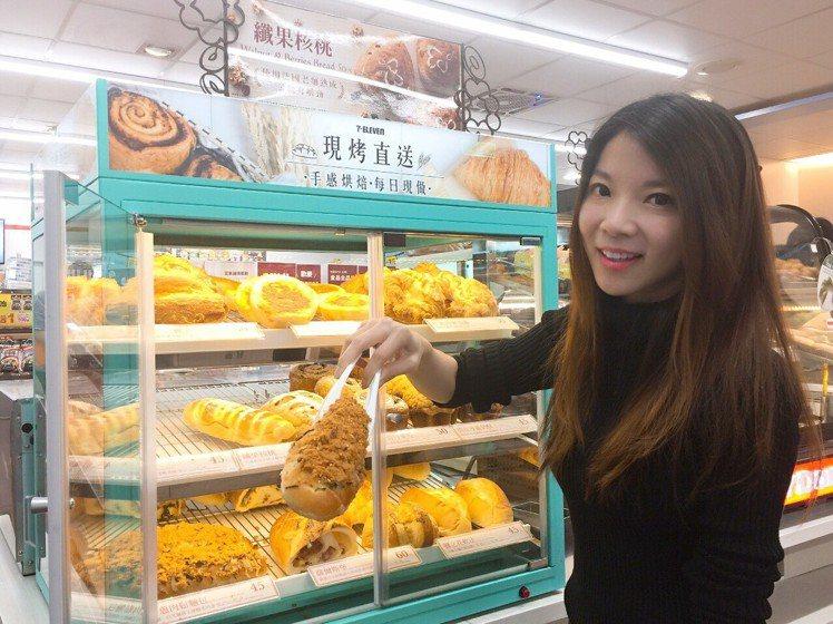 7-ELEVEN觀察到,大眾喜愛的麵包口味以「台日傳統」、「歐風精緻」為兩大主力...