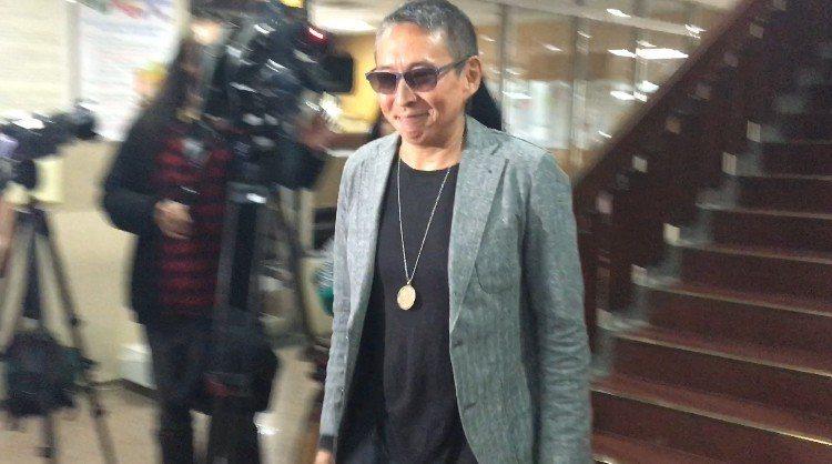 鈕承澤開庭結束步出法院。記者林孟潔/攝影