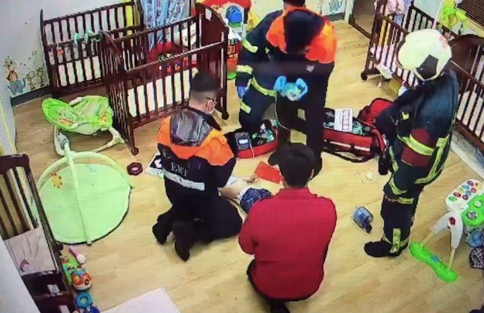四月初北市內湖一家托嬰中心10個月大男嬰,遭廖姓保母用身軀壓制哄睡致死,社會局開...