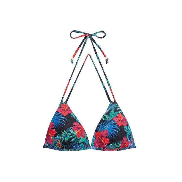 Aloha Vibes二代絢爛夏夜雙綁比基尼,1,490元。圖/WAVE SHI...