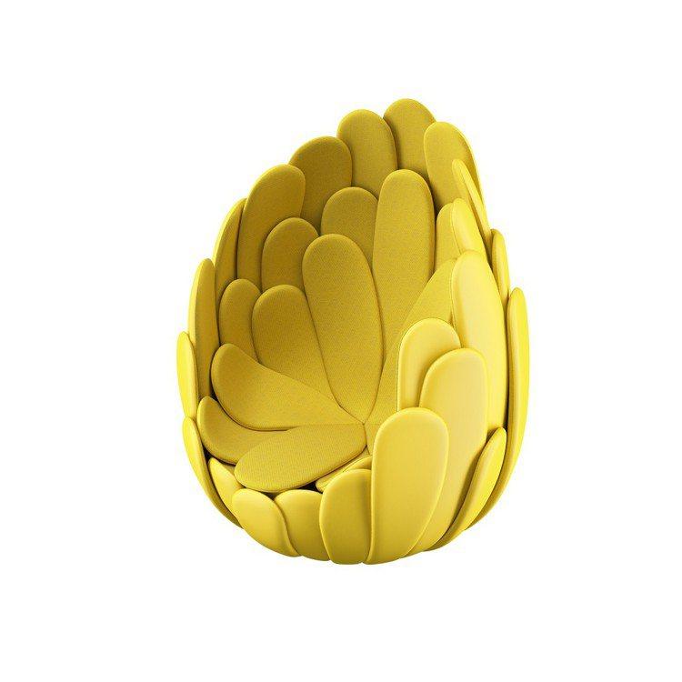 Campana兄弟設計的Bulbo宛若熱帶花朵,給坐在其上的人一個溫暖的擁抱。圖...