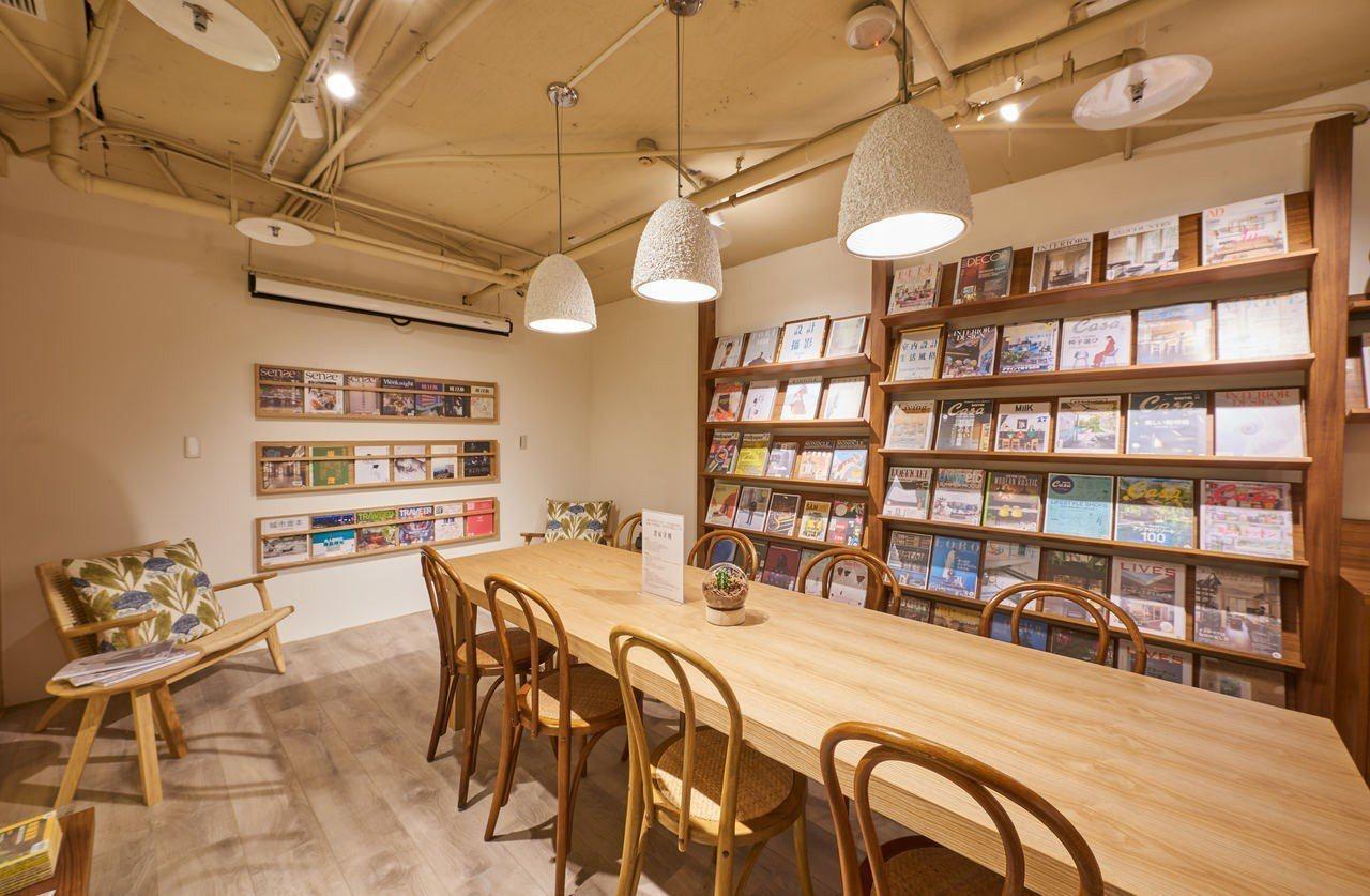 5月1日至5月12日四步書房憑比漾會員卡免費入場暢讀新書雜誌。圖/比漾廣場提供