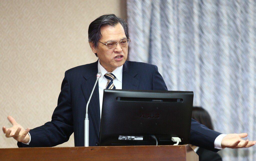 陸委會主委陳明通。聯合報系資料照