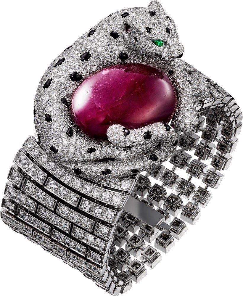 PANTHERE DE CARTIER 腕表,4,780萬元。圖/卡地亞提供