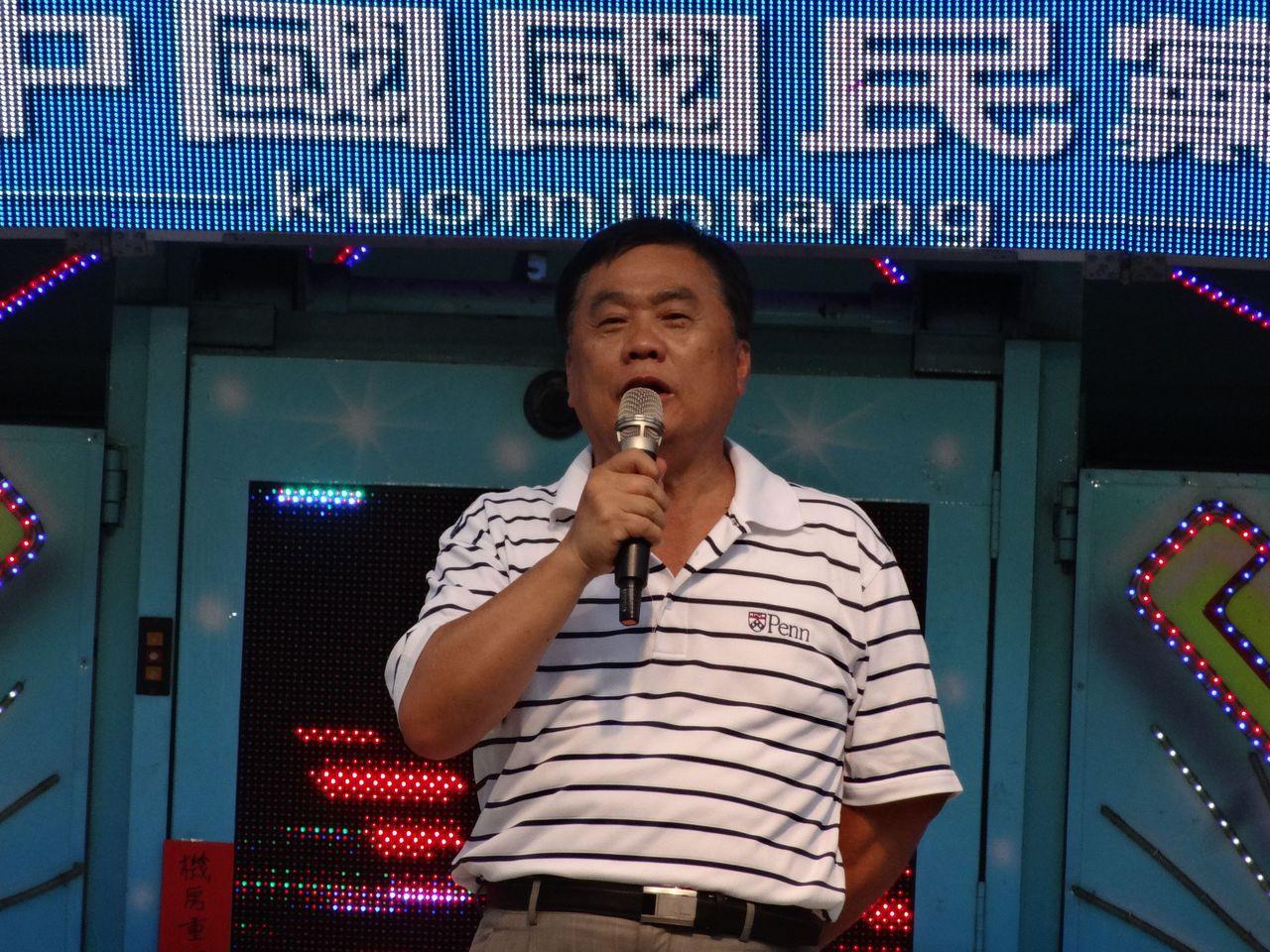 打贏官司的嘉義縣國民黨前立委翁重鈞。資料照片