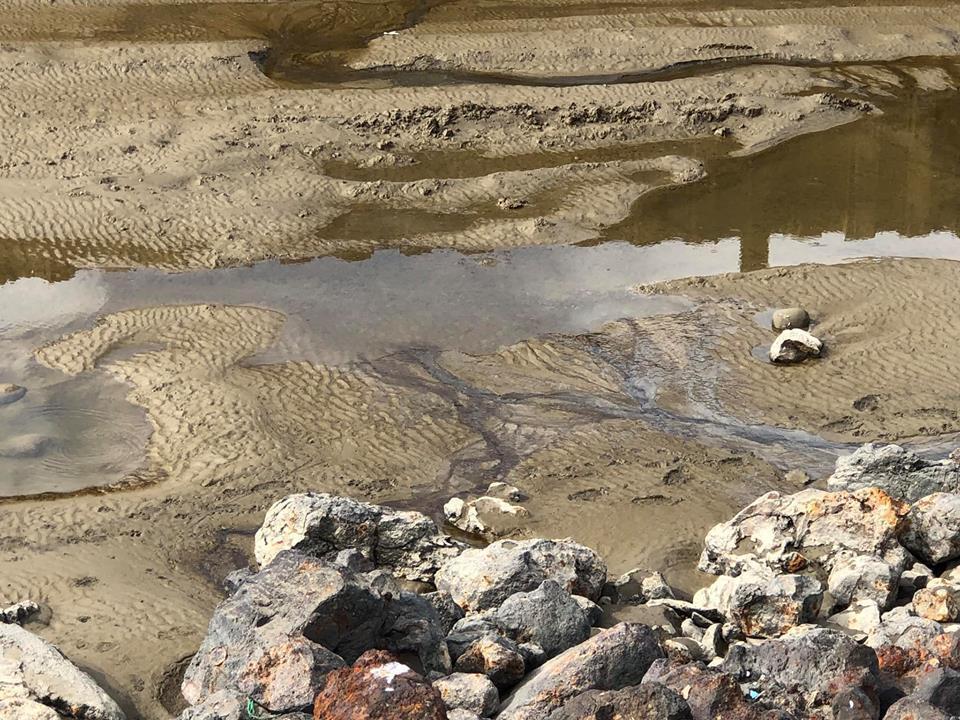 姜政焜說,施工已經停了快三個月,希望縣府能盡快爭取到追加預算,才不會避免再次污染...