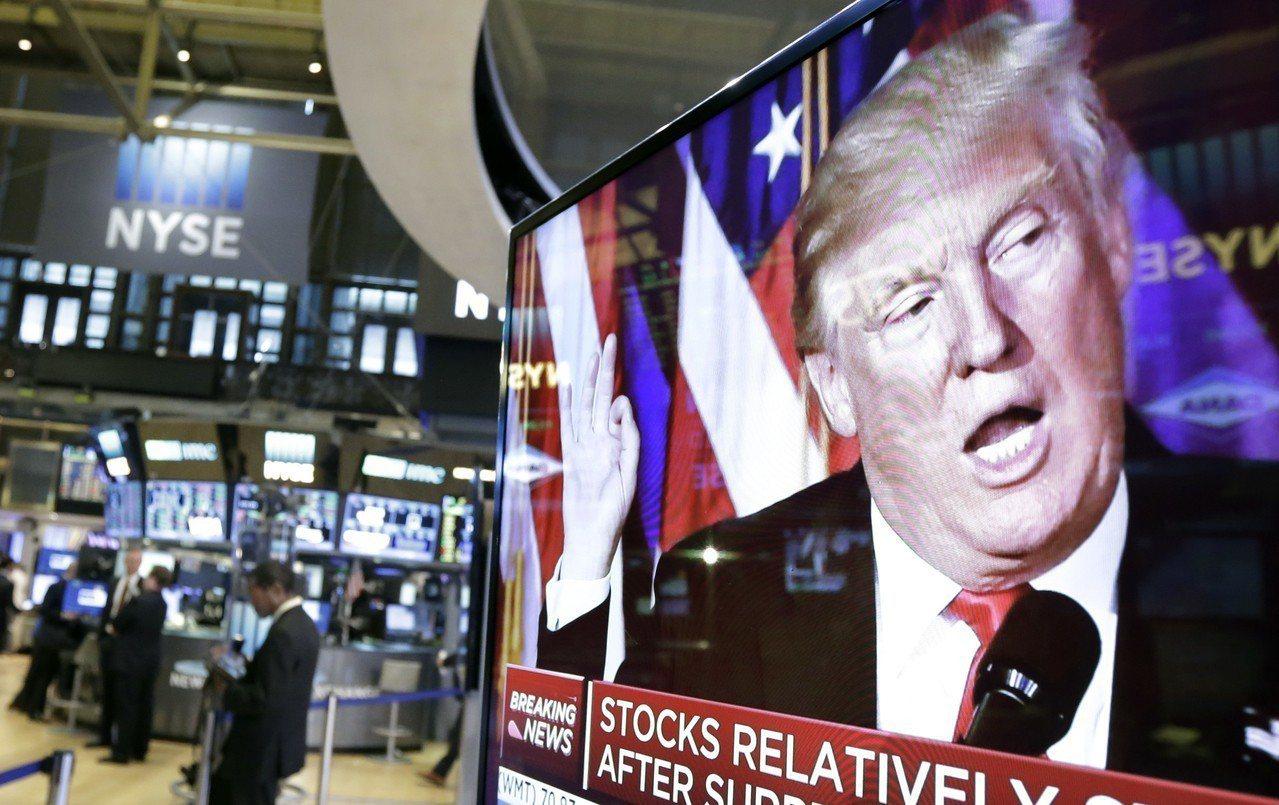 席勒認為,川普連任將延緩經濟衰退,股市將飆漲。美聯社