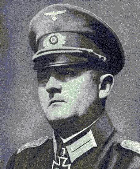 二戰末期保護巴黎聖母院等歷史古蹟建物的德軍將領馮.蕭爾鐵茨。(騰訊)