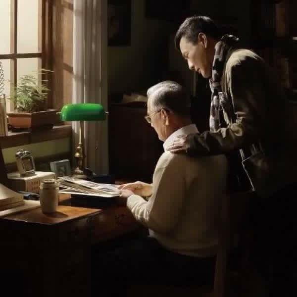 張信哲的父親(左)已於4月8日辭世。圖/摘自臉書
