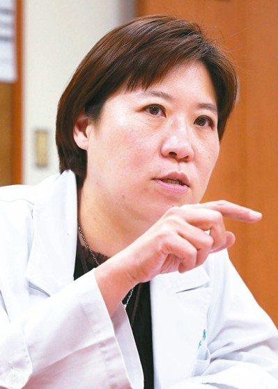 亞東醫院心臟內科主任吳彥雯。 記者林俊良/攝影