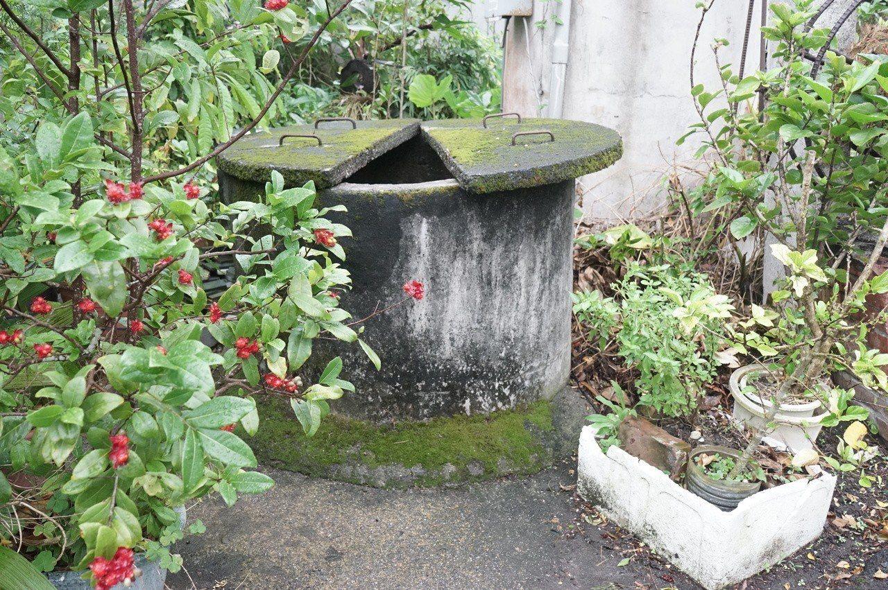 花蓮新城鄉大漢村有一口百年古井,附近居民長年仰賴井水過活。記者王燕華/攝影