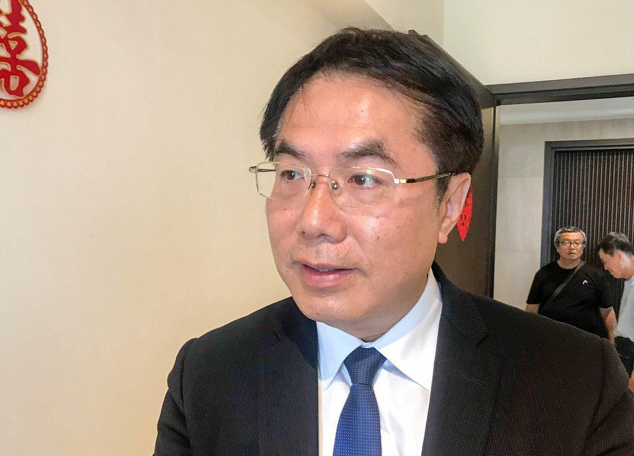 台南市長黃偉哲。聯合報系資料照片/記者鄭維真攝影