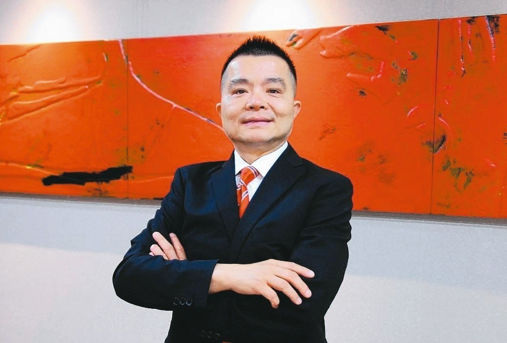 允強實業董事長張金鈺。 吳青常/攝影