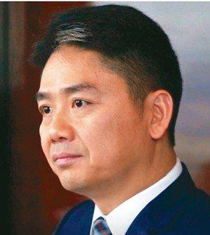 中國京東集團創始人兼首席執行官劉強東。 美聯社