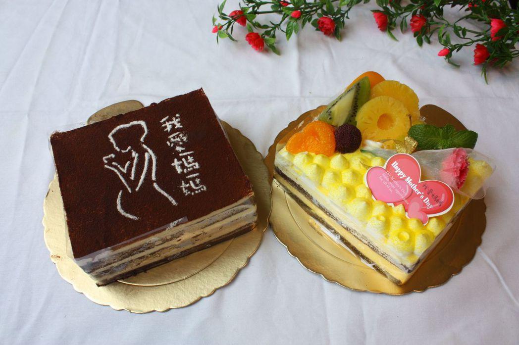 母親節期間入住,江南渡假村請媽媽們吃蛋糕。 江南渡假村/提供