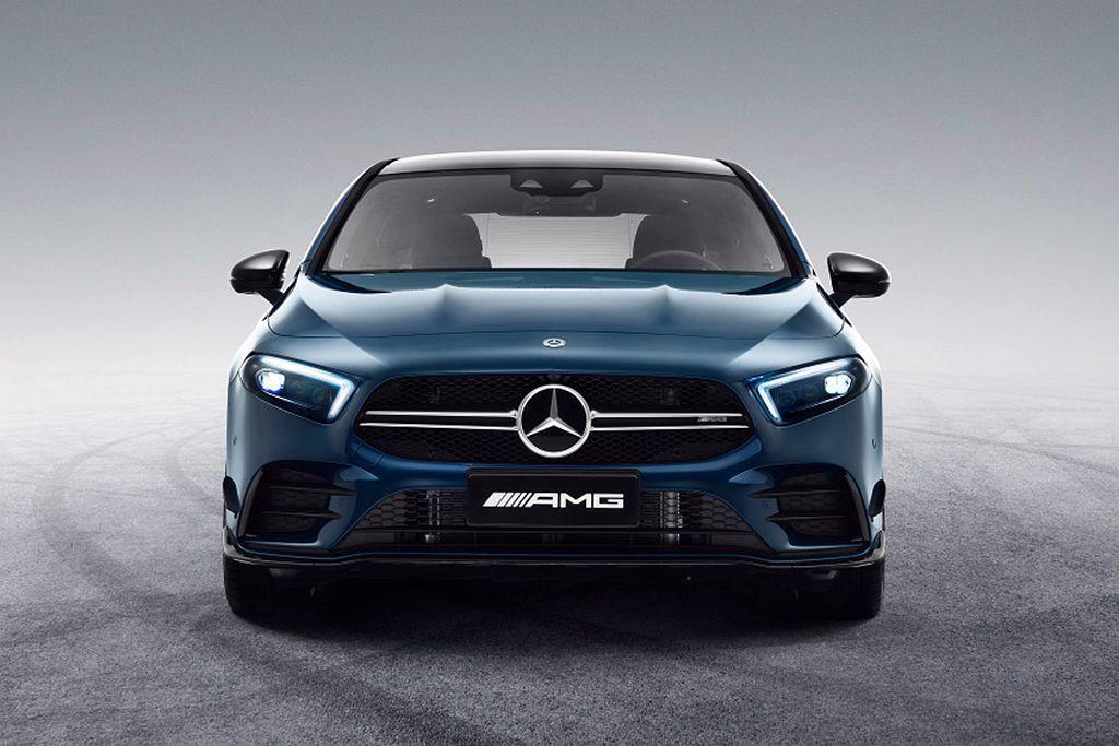 賓士於上海車展正式發表中國專屬長軸版Mercedes-AMG A 35 L 4M...