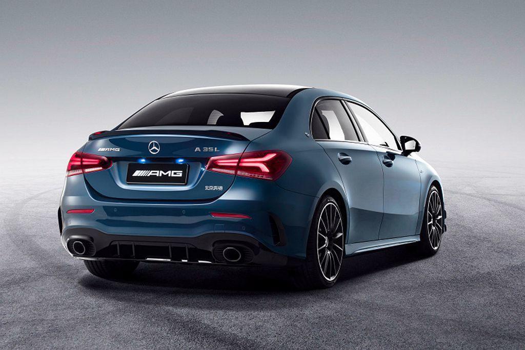 Mercedes-AMG A 35 L 4MATIC會由合資車廠北京奔馳汽車公司...