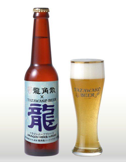 龍角散草藥啤酒。圖/擷取自warabi ※ 提醒您:禁止酒駕 飲酒過量有礙...