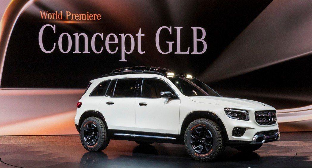 Mercedes-Benz在2019上海車展中,帶來了全新概念休旅Concept...