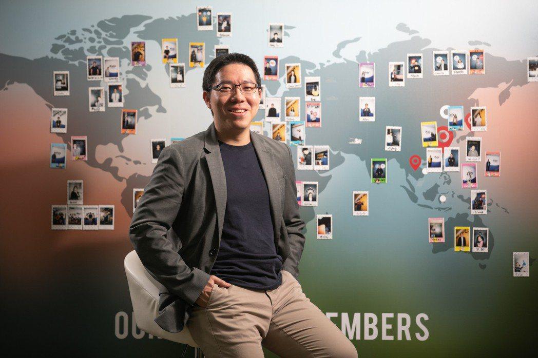 iKala執行長程世嘉允諾台灣優秀人才將走向國際。 iKala/提供