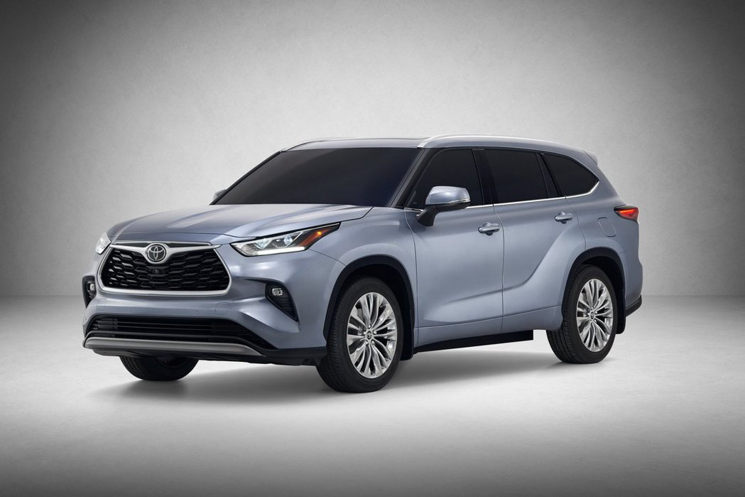 新世代Toyota Highlander。 摘自Toyota