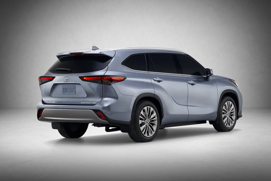 新世代Toyota Highlander在2019紐約車展舉辦前提前亮相。 摘自Toyota
