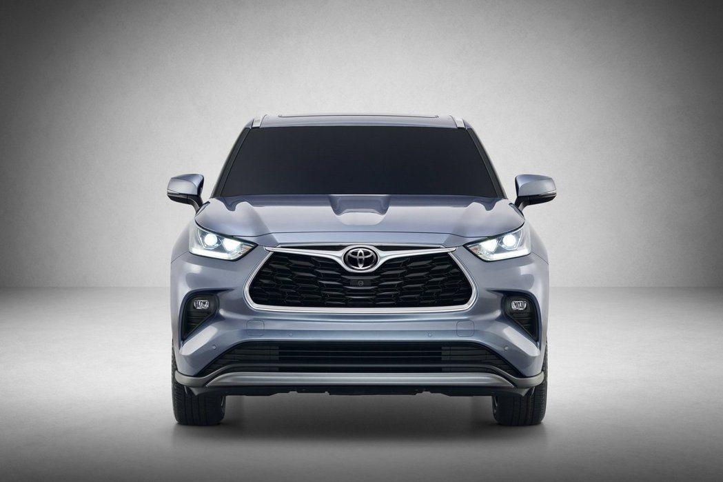 新世代Toyota Highlander建構於TNGA-K模組化底盤上。 摘自T...