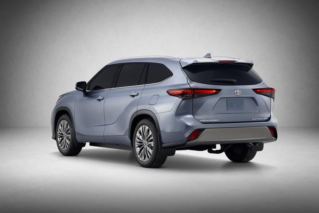新世代Toyota Highlander最快將於今年12月於美國市場搶先發售。 摘自Toyota
