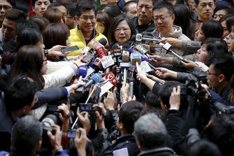 新聞自由乃台灣珍視而中國沒有的瑰寶。 圖/路透社