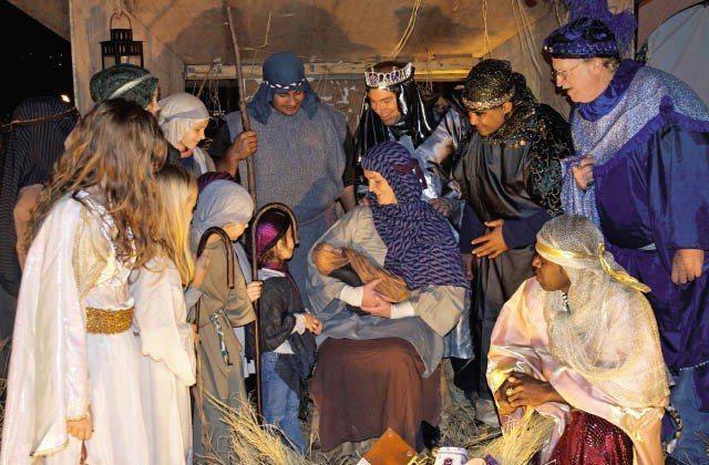 復活節到來,新竹區教會希望大家一起服務眾人,實現耶穌救世精神。(Photo on...