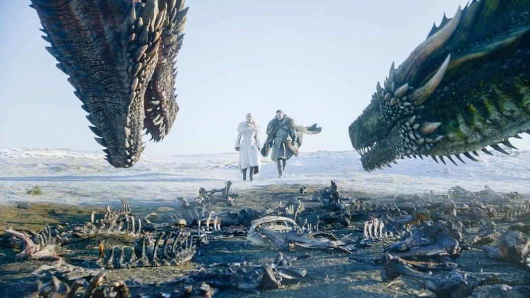 「冰與火之歌:權力遊戲」第8季首播讓粉絲熬夜收看也不後悔。圖/HBO提供