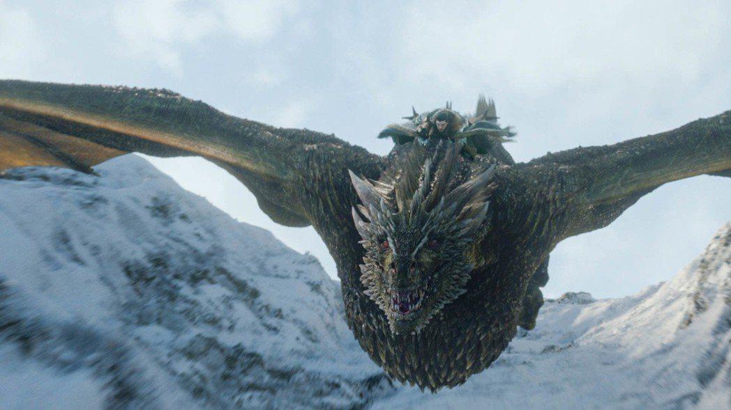 基特哈林頓自曝拍攝此場面時差點「破蛋」。圖/HBO提供